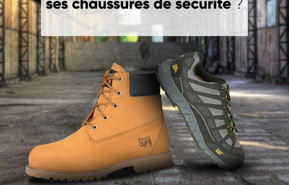 Bien choisir ses chaussures de sécurité