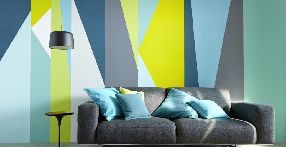 Peinture décorative pour différentes pièces