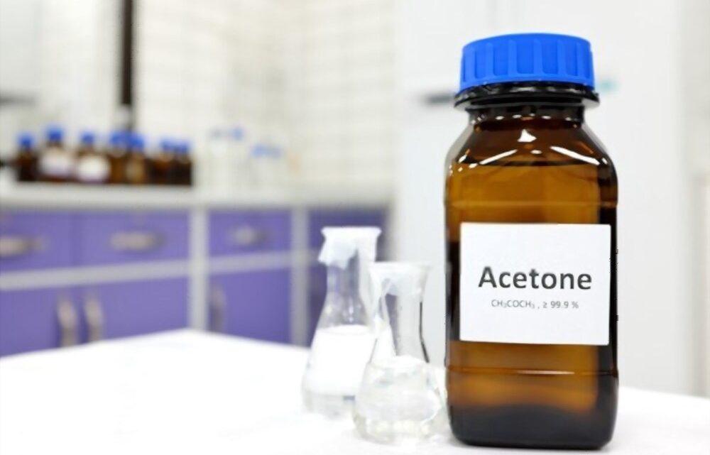 Les diverses utilités de l'acétone